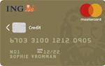 ING Mastercard Gold