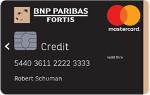 BNP Paribas Fortis MasterCard Gold