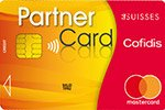 Cofidis Partner Card 3 Suisses - Shopping card