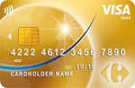 Carrefour Finance Visa Gold