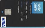 Hello bank Visa Classic
